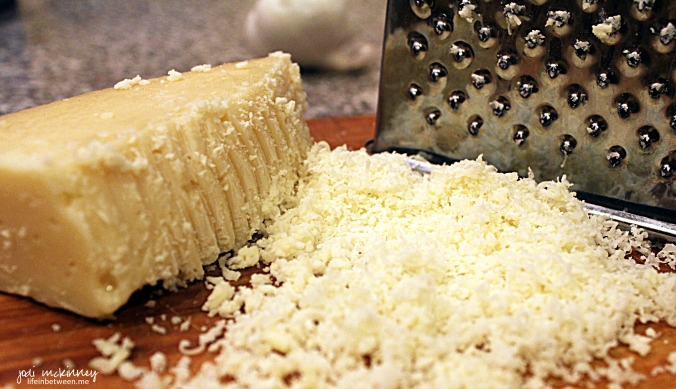 parmesan grated for pesto