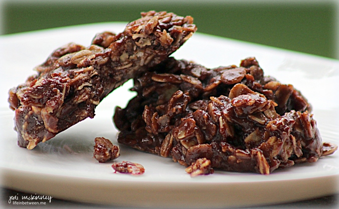 almost sugar free chocolate no bake cookies 2
