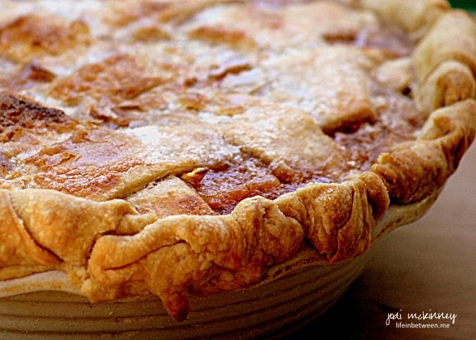 old fashioned fresh peach pie 2