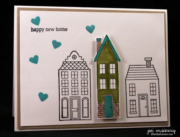 PP257 Happy New Home Card