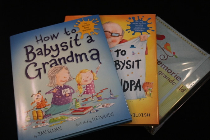 grandparent shower gift books