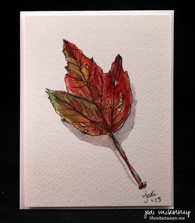 leaf watercolor 1