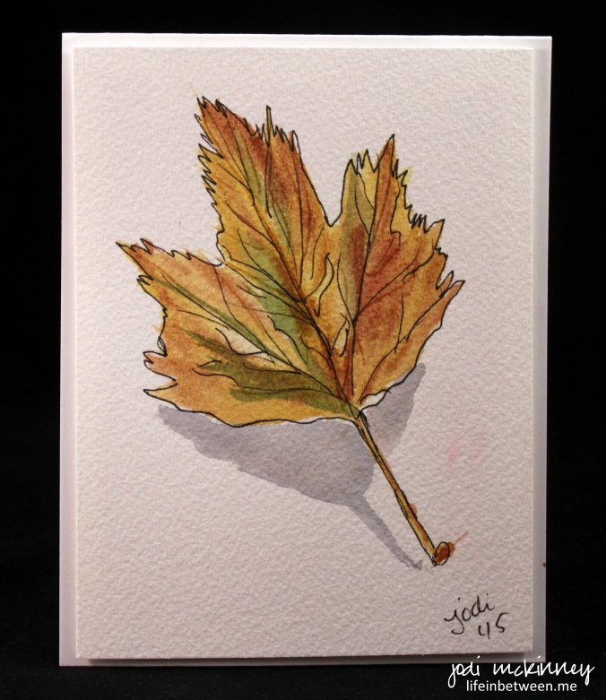 leaf watercolor 2
