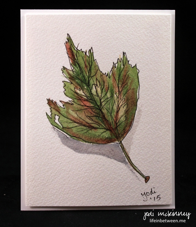 leaf watercolor 3