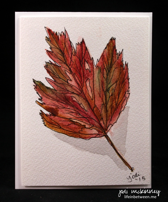 leaf watercolor 4