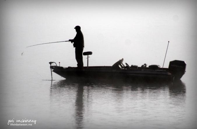 foggy fisherman conneaut lake