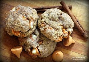 pumpkin cinnamon spice cookies