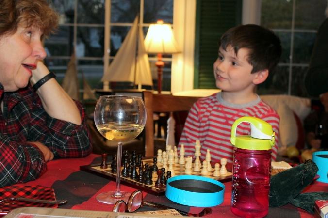 Mimi and Mason chess