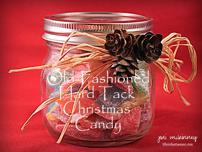Old Fashioned Hard Tack Christmas Candy