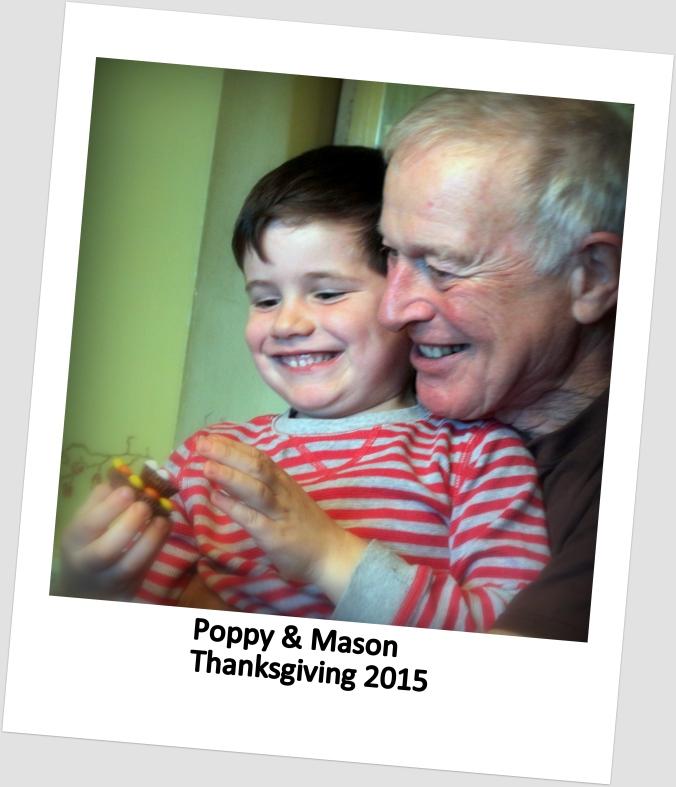 Poppy and Mason Thanksgiving 2015