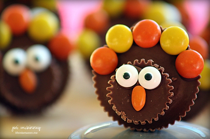 Reeses Peanut Butter Chocolate Thanksgiving Turkey Treats 1