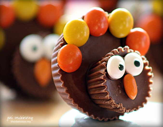 Reeses Peanut Butter Chocolate Thanksgiving Turkey Treats 2