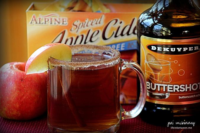 Warm Caramel Apple Cider 2