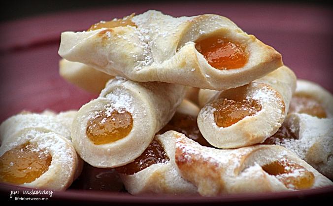 apricot kolaches christmas cookie baking 2015