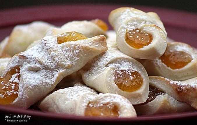 apricot kolaches christmas cookie baking 2015 2