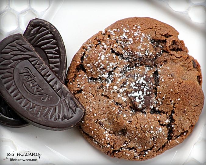 Chocolate Orange Crinkle Cookies 3