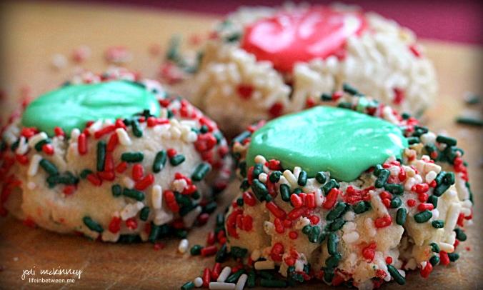 Christmas Pittsburgh Thumbprint Cookies 2