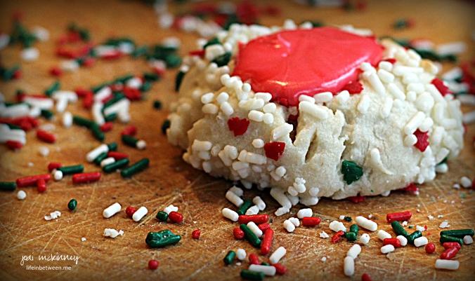 Christmas Pittsburgh Thumbprint Cookies 3