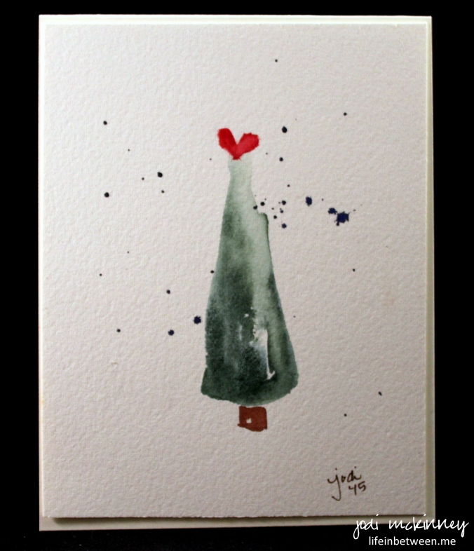 Watercolour Christmas Tree: Creative Inspiration In Food, Watercolor, Photography