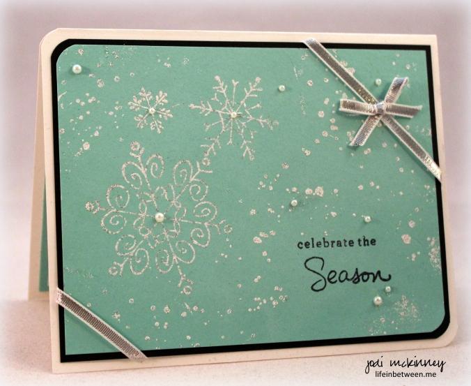 PP274 snowflake card