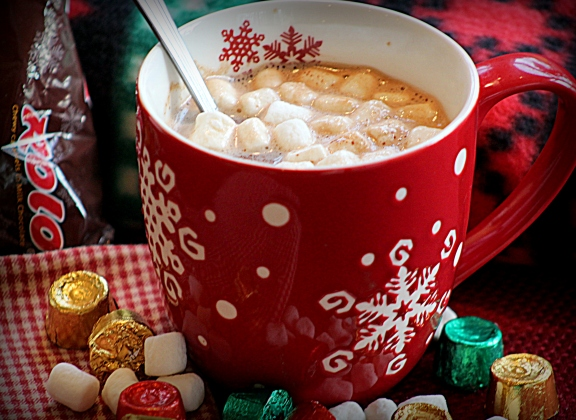 Rolo hot chocolate