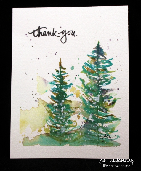 watercolor thank you christmas 2015 2