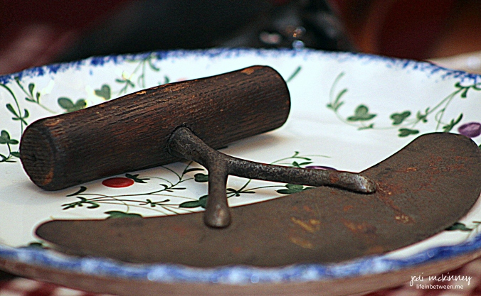 antique cutter