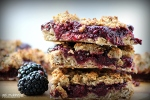 Blackberry Banana Oat Bars