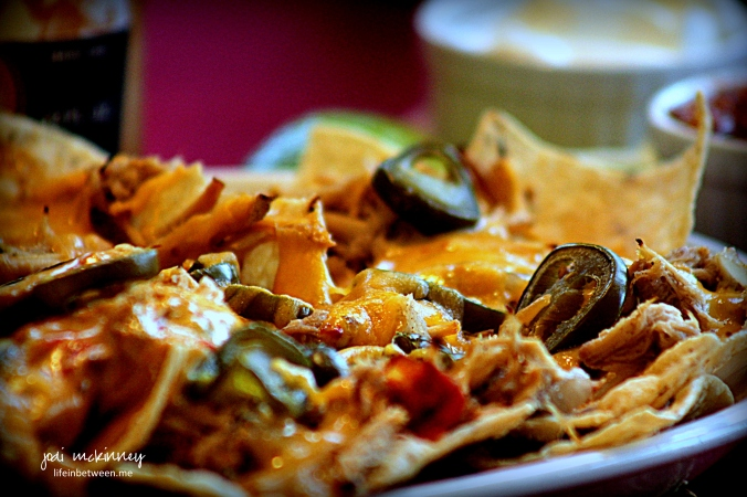 Spicy Dr Pepper Pulled Pork nachos 2