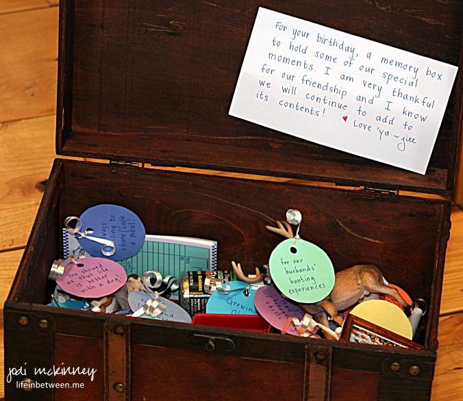 treasure box open