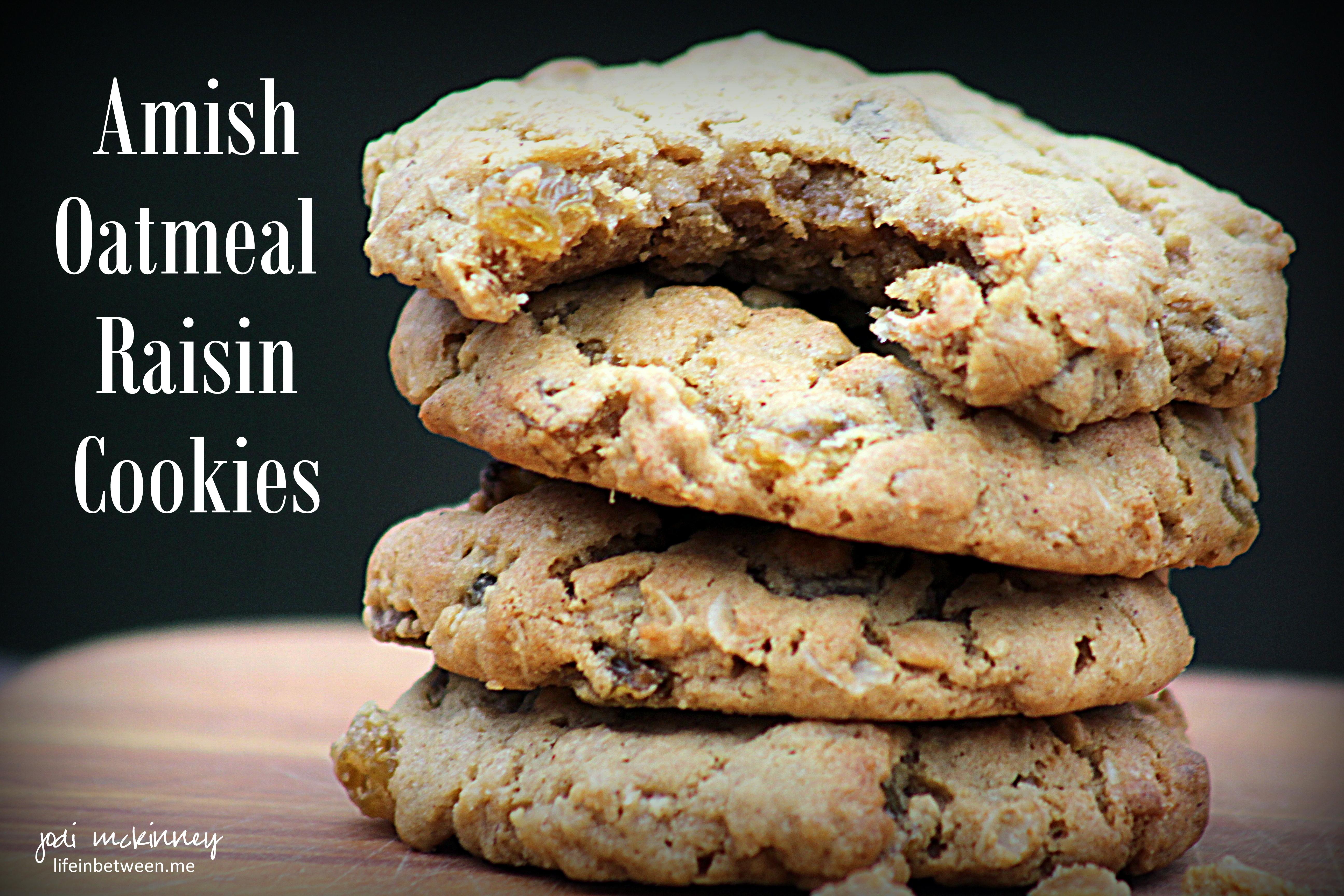 Recipe for honey and raisin cookies