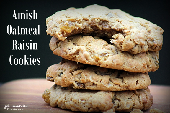 Amish Oatmeal Raisin Cookies