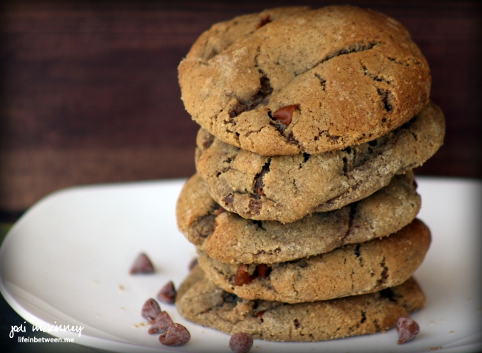 cookie butter cinnamon chip stack