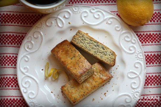 lemon poppy seed biscotti 3
