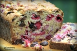 Fresh Red Raspberry Chocolate Chunk Bread