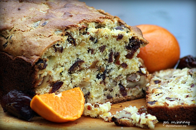 Orange Date Walnut Bread 3