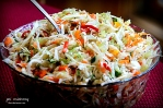 Fresh Poppyseed Viniagrette Cole Slaw 2