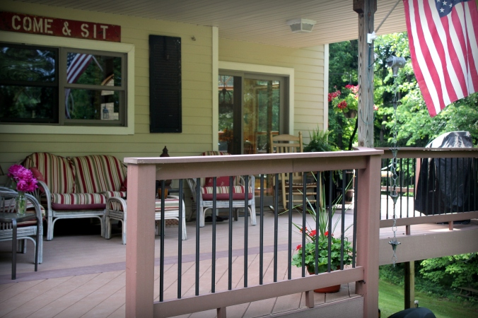 backyard deck 3 side