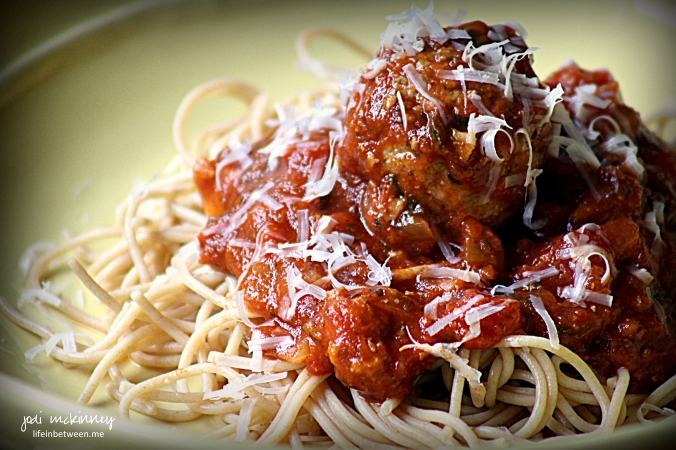 best ever meatballs with spaghetti