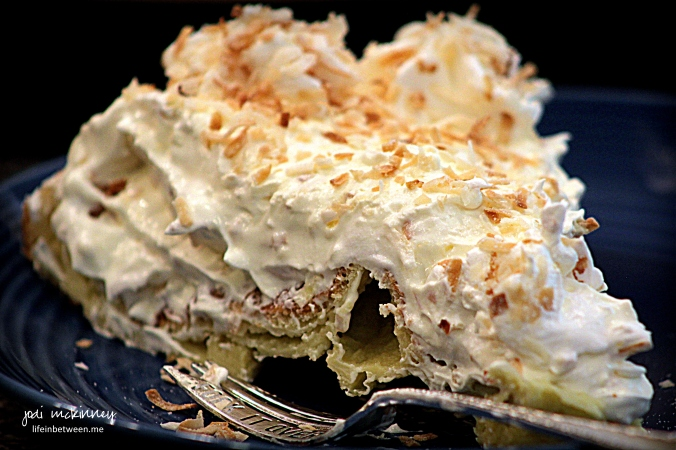 Cream Puff Cloud Coconut Cream slice recipe