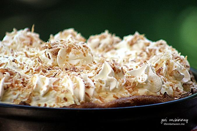 cream puff cloud coconute cream recipe