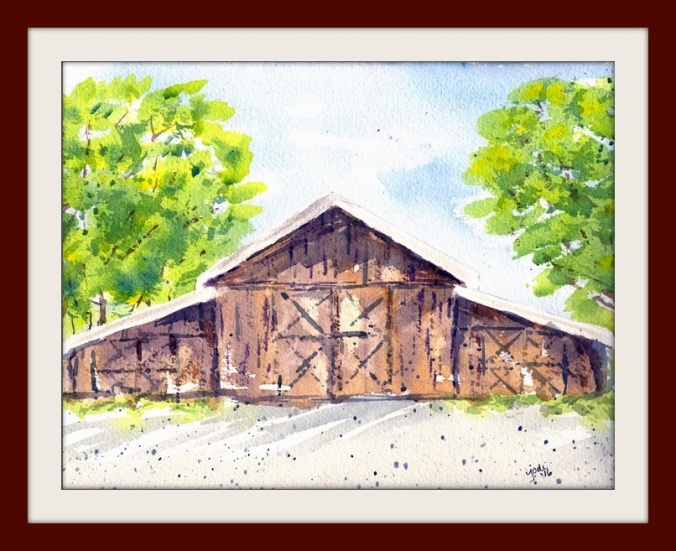 Gable farm Matted