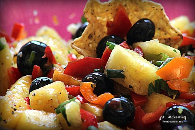 Pineapply Blueberry Salsa 2