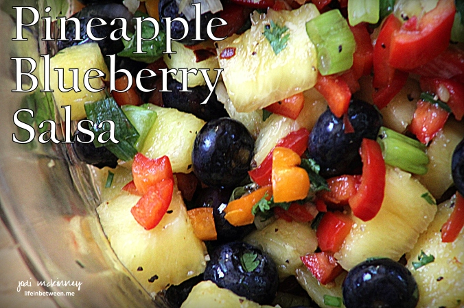 Pineapply Blueberry Salsa
