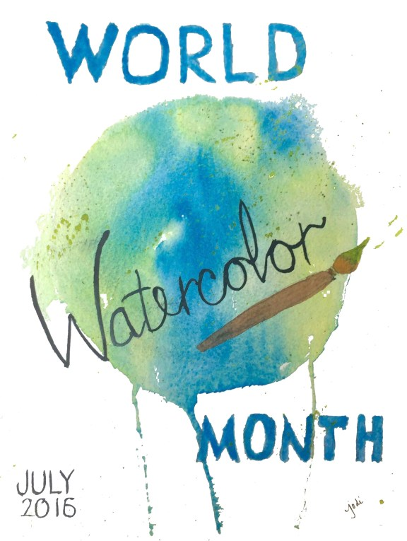world Watercolor month