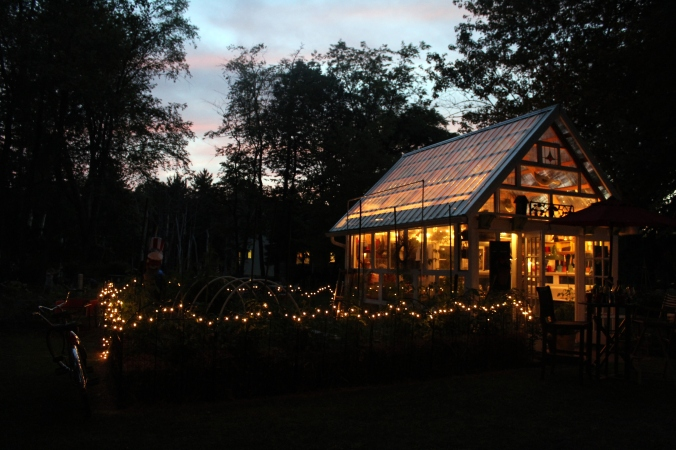 greenhouse night