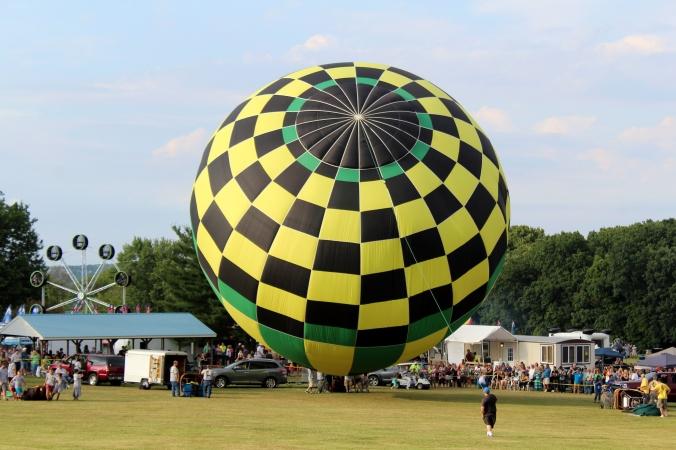 Hot Air Balloon WPA Balloonfest 4