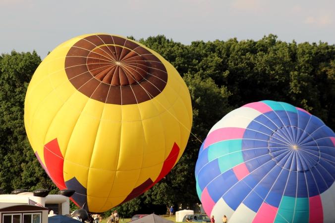 Hot Air Balloon WPA Balloonfest 93