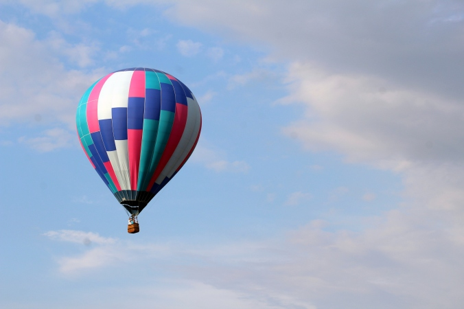 Hot Air Balloon WPA Balloonfest 96