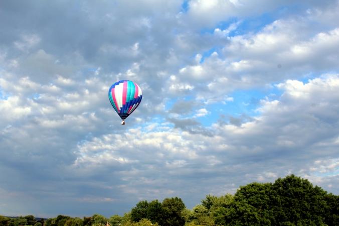 Hot Air Balloon WPA Balloonfest 97